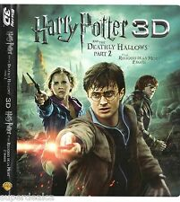 Harry Potter and the Deathly Hallows Part II Blu-ray DVD 2 Disc Set TRILINGUE ++
