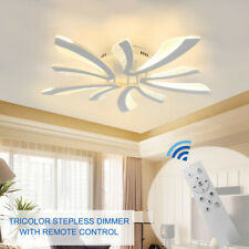 Modern Ceiling With Light Dimmable LED Chandelier Lamp & Remote Lamp Fixture