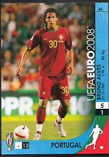 Tarjeta de fútbol-Panini UEFA EURO 2008-no 65-Portugal-Bruno Alves