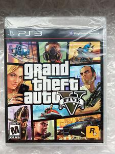 Grand Theft Auto GTA 5 V Five First Print! PS3 US Version! NEU Sealed WATA? VGA?
