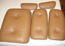 Brown Cushions for Original Herman Miller Eames Lounge Chair -no ottoman cushion