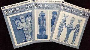 Wonders of the Past. Magazines 28, 29 & 30 by Sir JA Hammerton 1934 Paperback