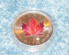 Kanada Maple Leaf Spezial Ahornblatt Motiv 1 Unze silber Sondermotiv