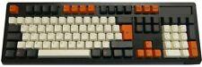 Tai-Hao ABS DoubleShot Keycaps Carbon/White UK+US Layout