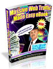 MASSIVE WEB TRAFFIC MADE EASY EBOOK PDF EBOOK FREE SHIPPING RESALE RIGHTS