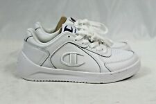 NEW Champion Ladies' Super C Court Lace Up Sneakers CPS10253W White Size 8