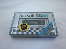 Maxell MX 90 Reference Metal Tape C-90 1977-1979 Japan Neu New Sealed RARE!!!