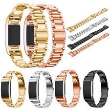 Gliederarmband Edelstahl Armband Uhrenarmband Band für Fitbit Charge 2 Bracelet