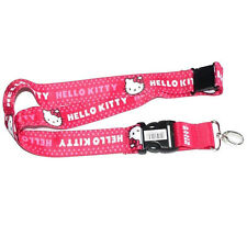 New Hello Kitty Lanyard w/ Safety Latch and Detachable Key Chain