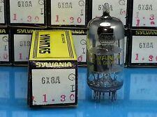 SYLVANIA 6X8 VACUUM TUBE Valvola Lampe  Röhre Valve Valvula SINGLE NOS NIB