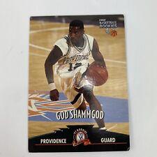 Vtg 1997 God Shammgod Basketball Rookies Providence Card Top Loader Bad Corners