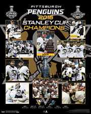 Pittsburgh Penguins 2016 Stanley Cup Championship Picture Plaque