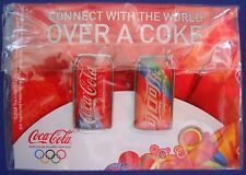 Vintage 2008 Coca-Cola Connect With The World Over A Coke Olympic Pins Beijing