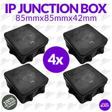 4 x CCTV Junction Box Outdoor Weather proof IP IP55 Terminal junction Box