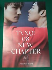 TVXQ Tohoshinki - New Chapter #1 : The Chance Official Poster Hard Tube Case NEW