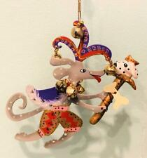 Fanciful Flights Jester Dog Ornament Silvestri / Rossi Christmas