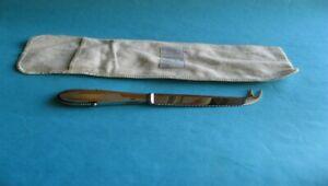 georg jensen denmark vtg. sterling silver cheese bar knife beaded kugel serrated
