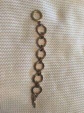 Victoria's Secret Rose Gold Costume Jewelry Link Womens Bracelet