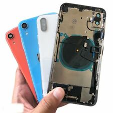 Back Glass Housing Battery Cover Frame Assembly For iPhone X 8 8 Plus XS Max XR
