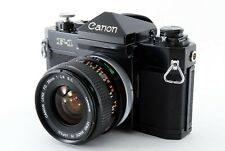 【Excellent】canon F-1  35mm SLR FIlm Camera w/FD 28mm f2.8Lens From Japan #4554