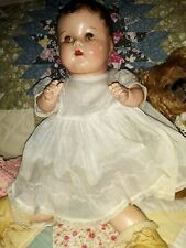 "Vintage 16"" Composition Doll So Cute Unmarked"