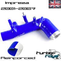 TTZ SILICONE INDUCTION INTAKE TURBO HOSE fits IMPREZA 1-07 TURBO WRX STI BLUE