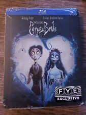 Corpse Bride Bluray Steelbook Limited Edition Fye Exclusive New Sealed No Dents