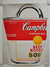 Andy Warhol, original poster 1993, Campell's Soup Can Near Mint