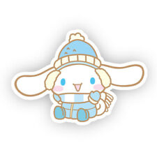 Sanrio Cinnamoroll Cute Winter Coat Snow Decor Japan Cartoon Vinyl Sticker 3""
