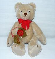 Hermann Teddy Plush Original Bear 1243 Signed