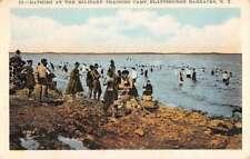 Plattsburgh Barracks New York Military Training Camp Antique Postcard K78519