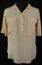 Klassische Damenblusen, - tops & -shirts aus Seide ohne Muster