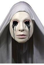 Halloween AMERICAN HORROR STORY ASYLUM NUN Latex Deluxe Mask Haunted House NEW