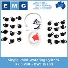 Single Point Watering System 8 x 6 Volt - BWT Brand for Low Speed Vehicles