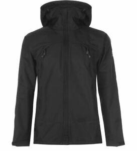 KARRIMOR Mens Black Arete Softshell Jacket UK Size L *REF172