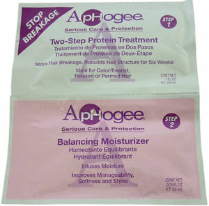 ApHogee Two-Step Protein Treatment and Balancing Moisturizers | Sachet