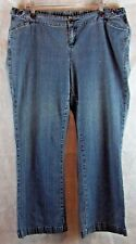 Oh Baby by motherhood Maternity SZ XL Blue Denim Jeans Button Side Adjustments