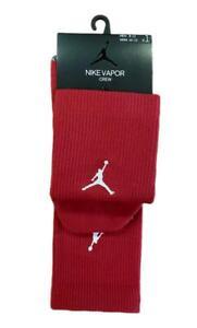 Nike Air Jordan Vapor Crew Socks SX7012-613 Men's Size L (8-12) NWT Unreleased