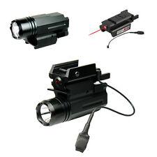 2in1 Red Laser Light LED CREE Flashlight for pistol Glock 17 19 20 21 22 23