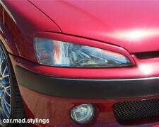 PEUGEOT 106 EYEBROWS/EYELIDS/KIT/LIGHT/EYE BROWS GTI/RALLYE