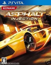 Used PS Vita Asphalt: Injection SONY PLAYSTATION JAPANESE IMPORT