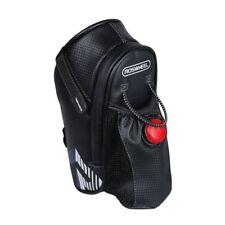 Bike Seat Saddle Bag Waterproof Roomy Strap-on Bicycle Seat Pack  2.7x3.5x9.5''
