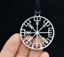 Wikinger Kompass Anhänger Halskette Symbol Nordischen Runenhalsketten Schmuck