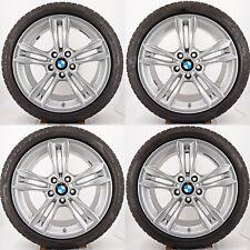 4x BMW F30 F31 Kompletträder Styling 658 8x18 ET34 6866306 Silber Winter Pirelli