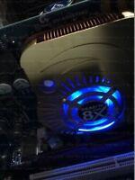 Gigabyte NVIDIA GeForce FX 5900XT (GV-N59X128D) 128MB DDR SDRAM AGP rare! LED!