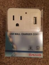 USB Wall Charger Combo