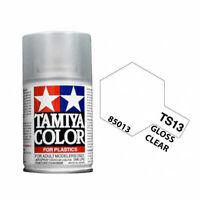 Tamiya 85013 TS-13 Gloss Clear Lacquer Spray Paint 100ml - US