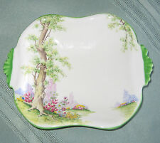 Royal Albert Greenwood Tree Trinket/Candy Dish With Handles