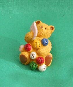 Upcott Teddy Bear figurine Lottery Bear -New in Box