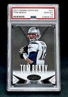 2014 Panini Certified #57 TOM BRADY PSA 10 Gem Mint POP 6